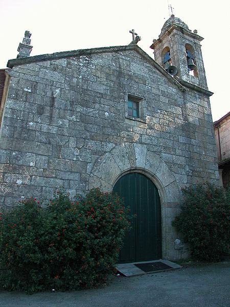 Igrexa parroquial de San Xulián. (Fonte: Wikipedia).