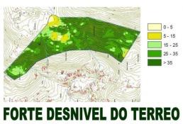 Estudo topográfico PROFESIONAL realizado sobre a proposta de chan industrial do Concello de Marín.