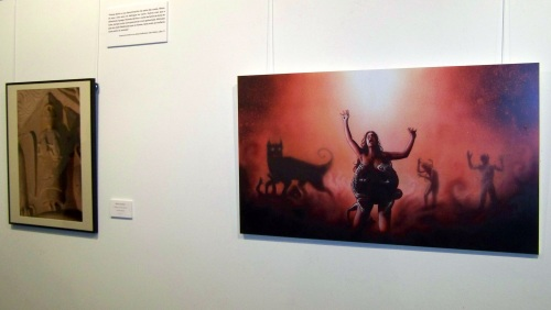 """""""Sexo na pedra"""", exposición de Federico de la Peña no Palacete das Mendoza, ata o 7 de xaneiro."""