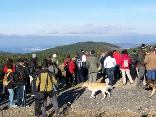 3ª andaina contra o parque eólico de Pedras Negras.
