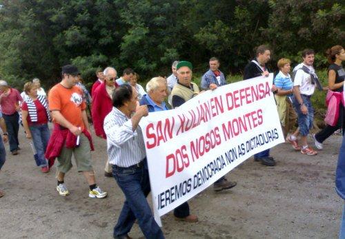 San Xulián, en defensa dos nosos DESmontes.