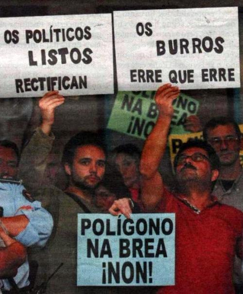 Foto da prensa no blog BreaSeixo.