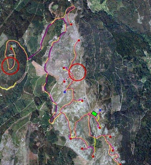 Afeccións do parque eólico de Pedras Negras (fonte: Morrazo 20 20).