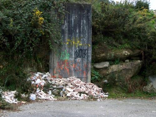 Detrás do túnel sobre o que pasa a Variente, entre Pena e Caeiro.