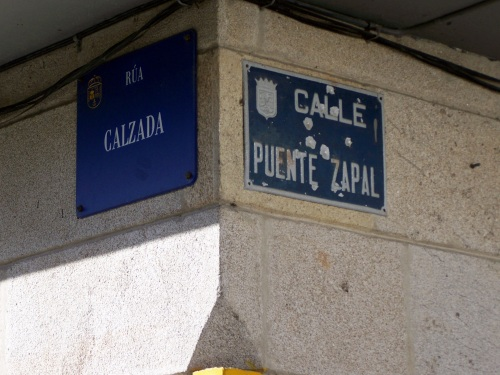 Rúa Ponte Zapal.