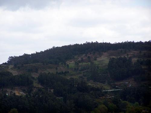Vista do Monte Pituco dende o Castro da Subidá.