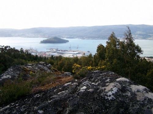 Vista de Tambo dende o Monte Catadoiro.
