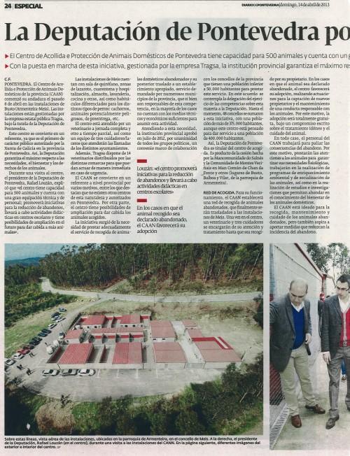 Diario, 14 de abril de 2013.