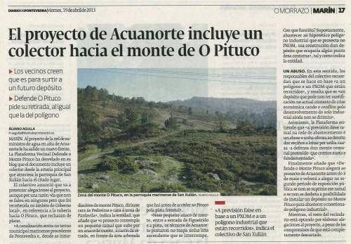 Diario de Pontevedra, 19 de abril