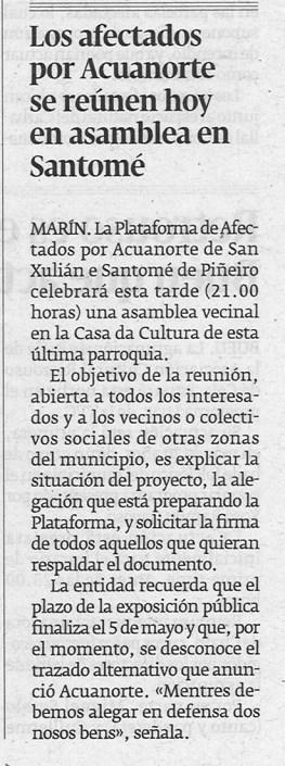 Diario, 26 de abril de 2013.