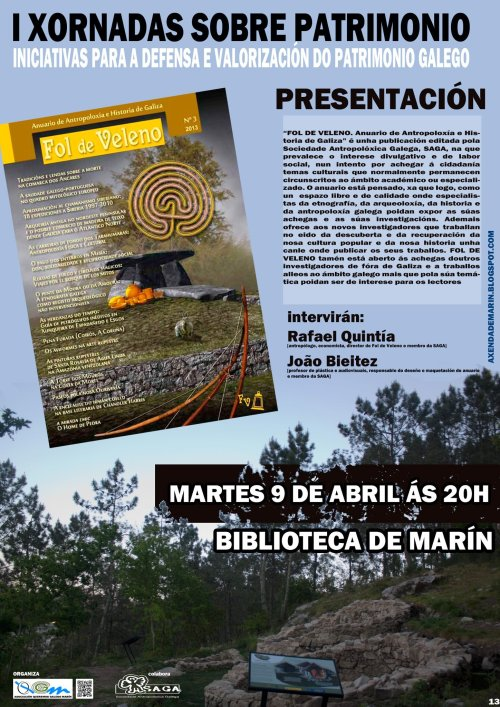 Presentación do Anuario Fol de Veleno en Marín.