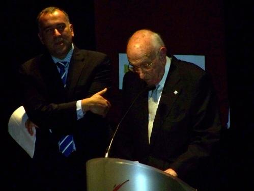 Alfonso Zulueta de Haz, Premio Pontevedrés de honra de 2012.