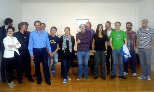 Representantes da nova Plataforma 2018 contra a prórroga a Ence.