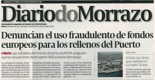 Diario. 27 de abril de 2013.