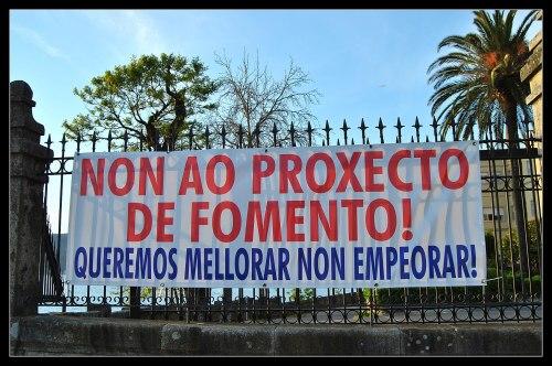 Foto: Plataforma en Defensa da Praza dos Praceres.