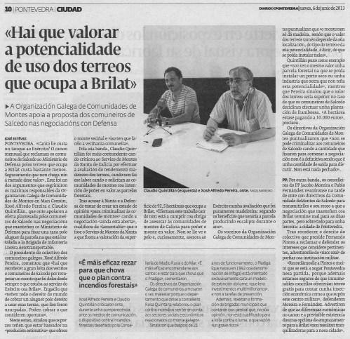 Diario, 6 de xuño de 2013.