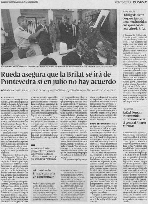 Diario, 8 de xuño de 2013.