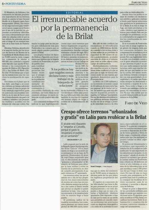 Faro, 9 de xuño de 2013.