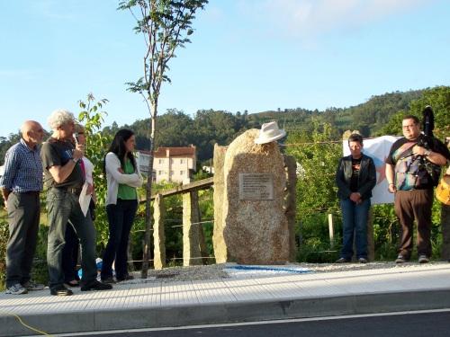 Homenaxe a Xan Montenegro, xuño de 2013.