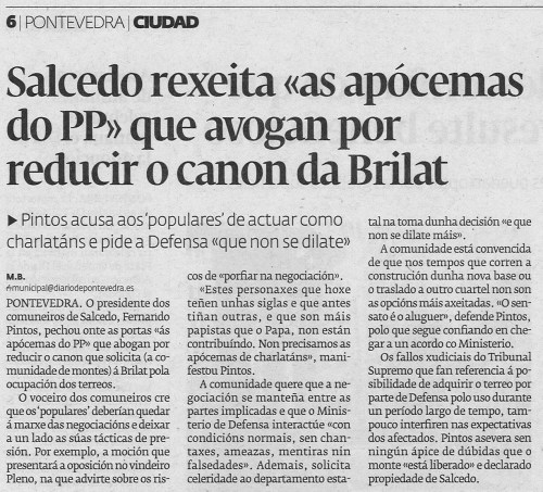 Diario, 14 de xuño de 2013.