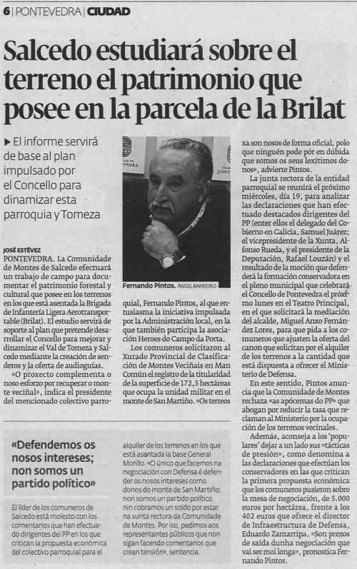 Diario, 15 de xuño de 2013.