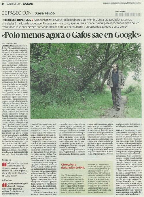 Diario, 16 de xuño de 2013.