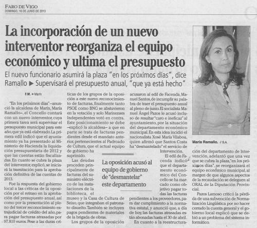 Faro, 16 de xuño de 2013.