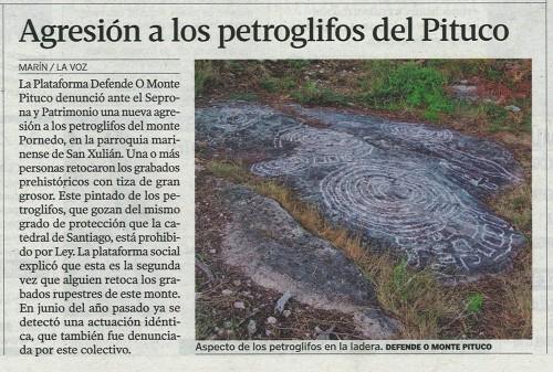La Voz, 19 de xullo de 2013.