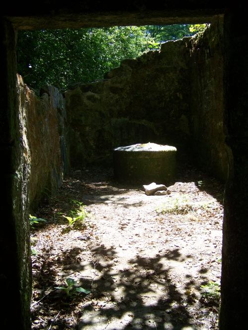 No Muíño do Toxal, a carón do río Gafos.