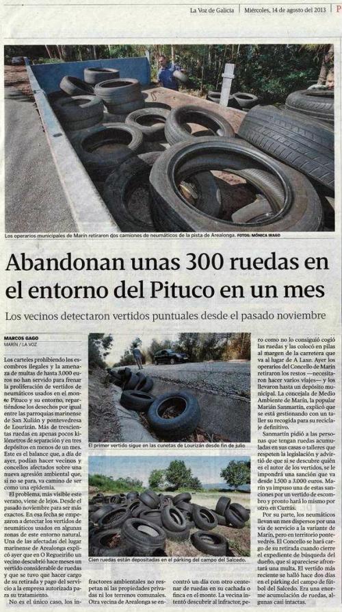 La Voz, 14 de agosto de 2013.