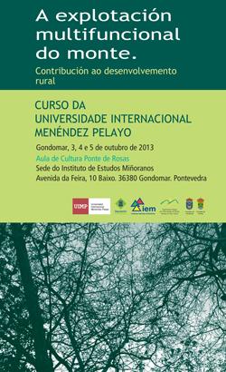 """Curso sobre """"A explotación multifuncional do monte"""", en Gondomar."""