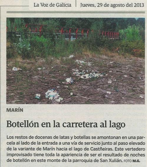 La Voz, 29 de agosto de 2013.