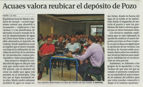 La Voz de Galicia, 7 de agosto de 2013.