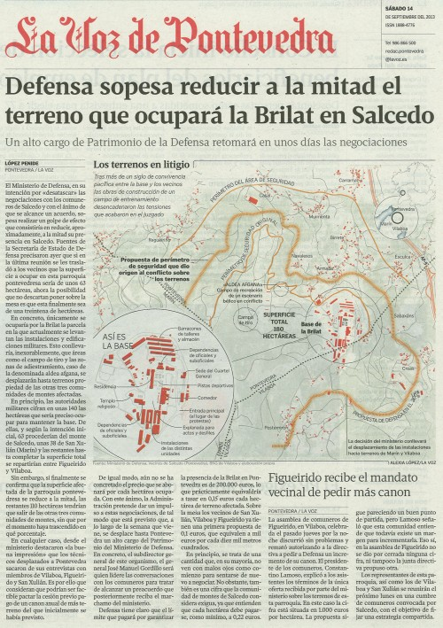 La Voz, 14 de setembro de 2013.