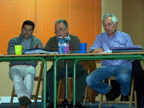 Asemblea dos comuneiros de Salcedo, 26 de outubro de 2013.