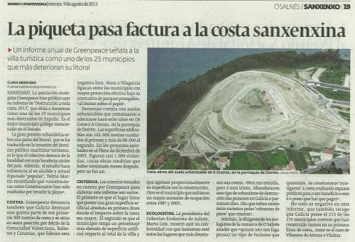 Diario, 9 de agosto de 2013.