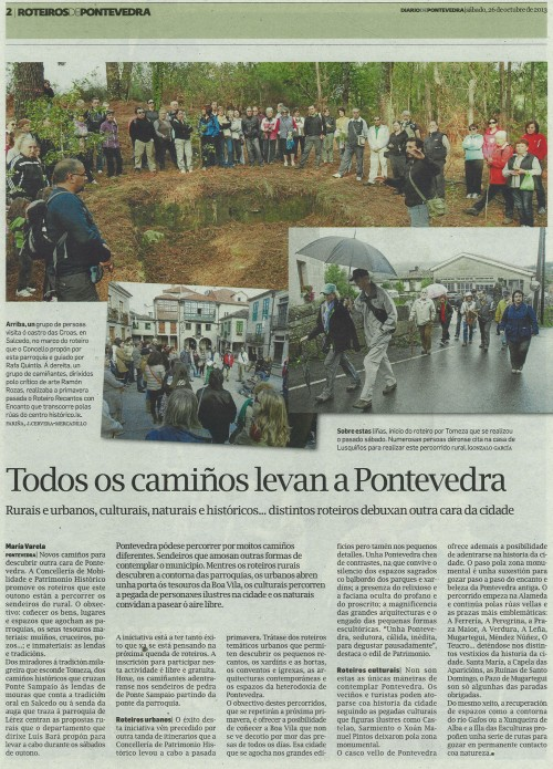 Diario, 26 deoutubro de 2013.