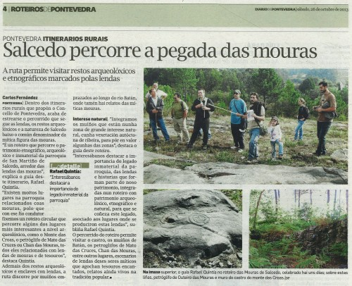Diario, 26 de outubro de 2013.