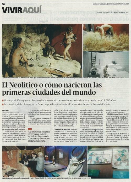 Diario, 2 de outubro de 2013.