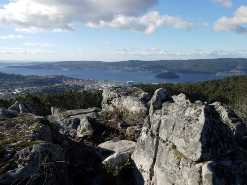 Vista dende o Alto da Encavada. Foto de Cándido Martínez (Luita Verde).