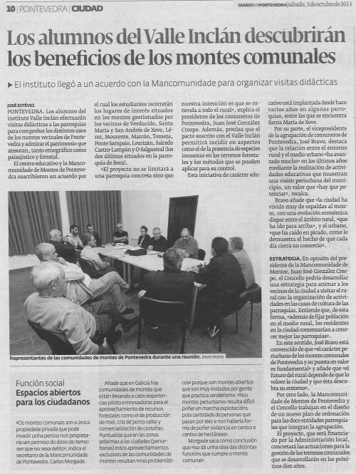 Diario, 5 de outubro de 2013.