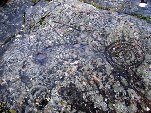 Nos petroglifos de Mogor. Roteiro organizado por Almuinha.