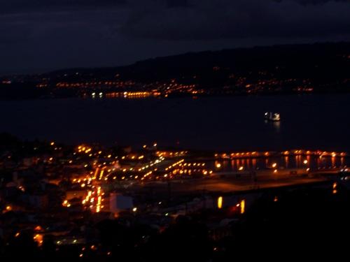 Desde o miradoiro do Alto do Pornedo, 19:00 horas.