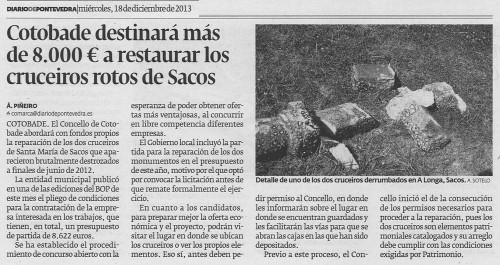 Diario, 18 de decembro de 2013.