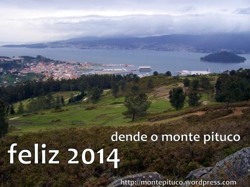 Feliz  2014 dende o Monte Pituco.