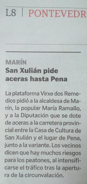 La Voz, 17 de decembro de 2013.