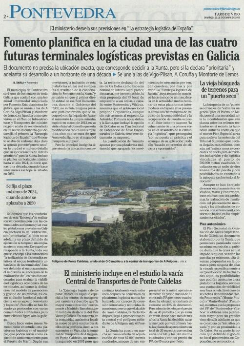 Faro, 22 de decembro de 2014.