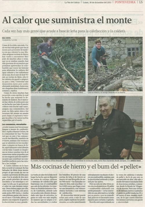 La Voz, 30 de decembro de 2013.