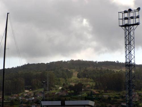Vista do Monte Pituco desde a Escola Naval Militar.
