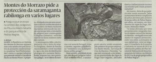 Diario, 2 de febreiro de 2014.